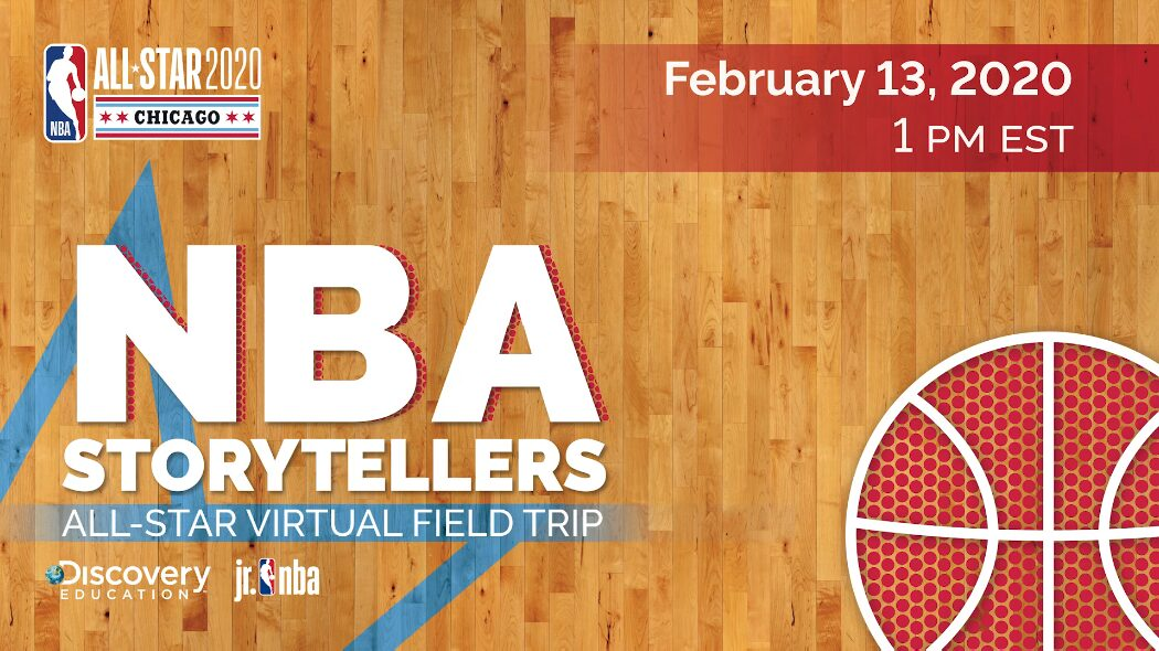 NBA and Discovery Education Invite Educators and Students to No-Cost All-Star Virtual Field Trip