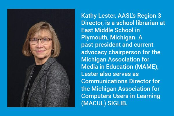Kathy Lester: School Libraries for ALL Students