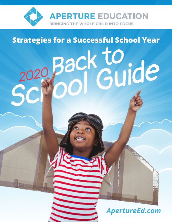 Aperture Education's 2020 Back to School Guide Helps Teachers and Families Support Students' Social Emotional Learning