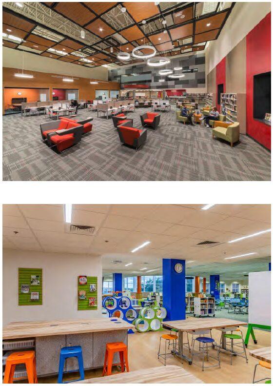 EdMarket huddle spaces