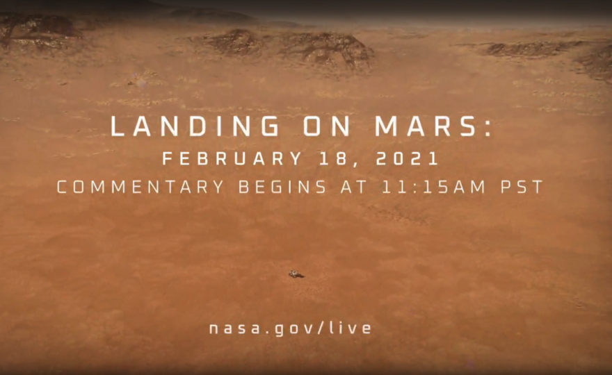 NASA & Discovery Education Invite Educators & Students to Explore Mars Through Livestream of Perseverance Rover's Landing