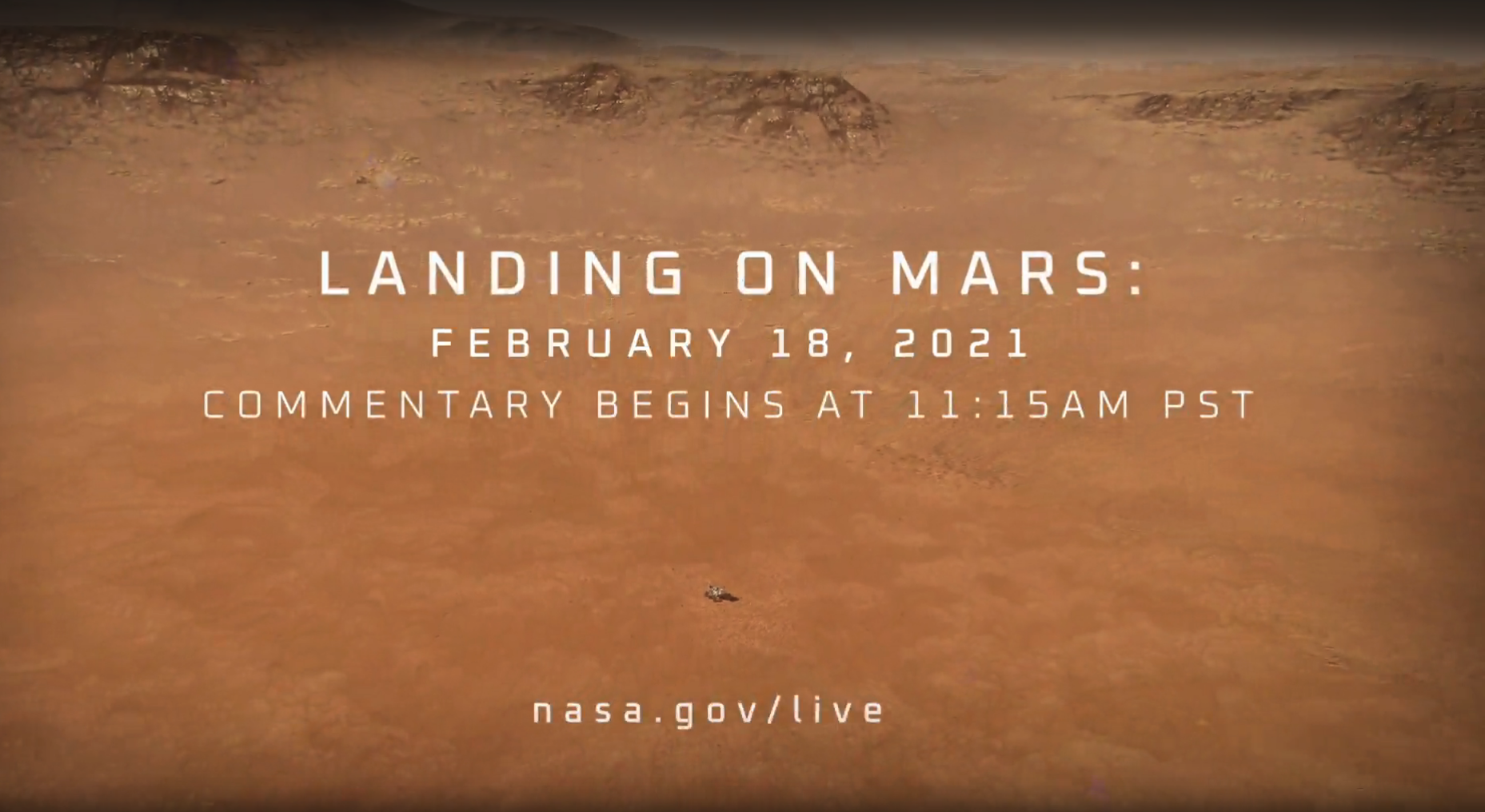 NASA &Discovery Education Invite Educators & Studentsto Explore MarsThrough Livestreamof Perseverance Rover's Landing